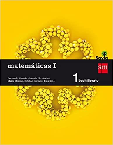 1º de Bachillerato. Matemáticas I. Savia