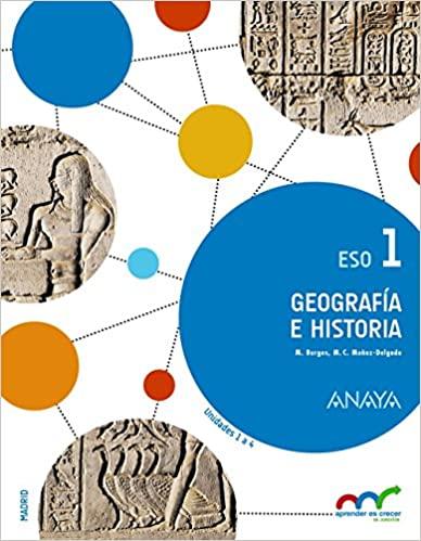 1º de la Eso. Aprender es crecer en conexión. Geografía e Historia