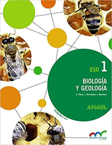 1º de la Eso. Biología y Geología. Anaya