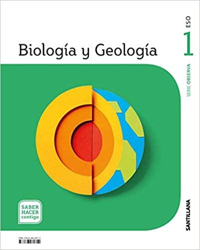 1º de la Eso. Biología y Geología. Saber Hacer Contigo. Serie Observa