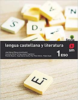 1º de la Eso. Lengua Castellana y Literatura. Savia