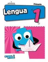 Primero de Primaria Lengua - Anaya