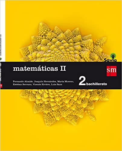 2º de Bachillerato. Matemáticas II. Savia