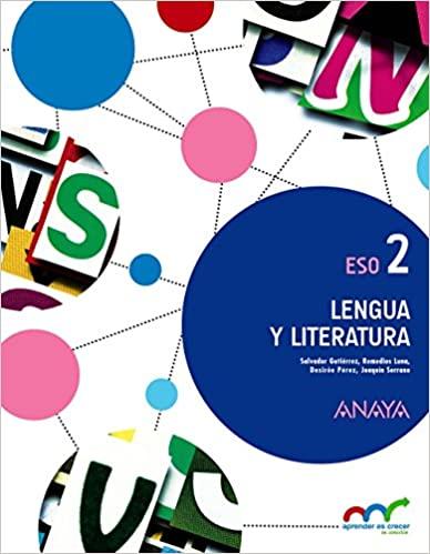 2º de la Eso. Lengua y Literatura. Aprender es crecer en conexión