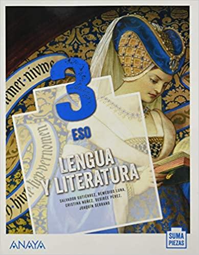 3º de la Eso. Lengua y Literatura. Anaya
