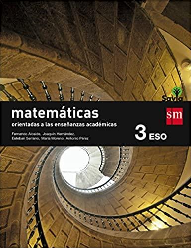 3º de la Eso. Matemáticas. Orientas a las Enseñanzas Académicas