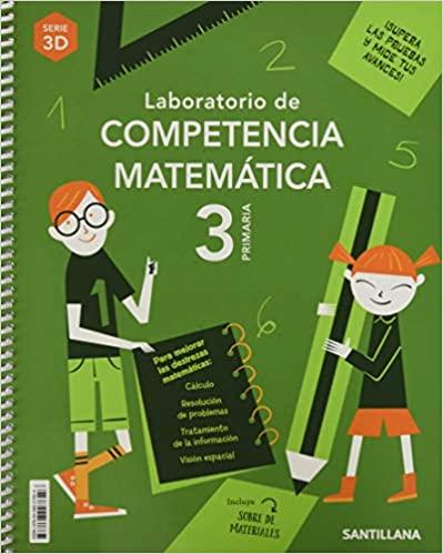 3 Primaria. Matemáticas. Laboratorio de competencia