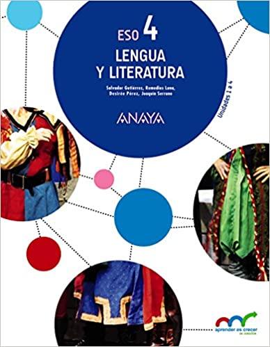 4º de la Eso. Lengua y Literatura. Aprender es crecer en conexión