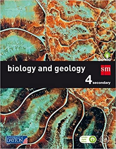 4º de la Eso. Savia. Biology and Geology