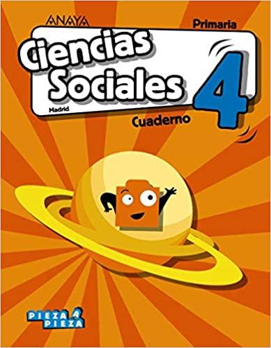 4 Primaria. Ciencias Sociales. Pieza a Pieza. Cuaderno