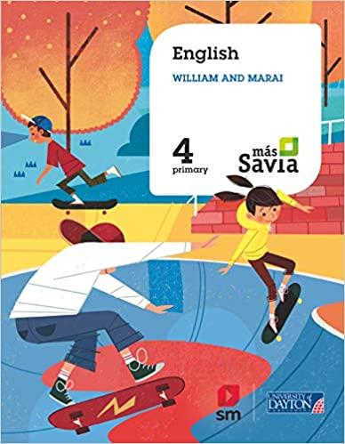 4 Primary. Más Savia. English for Plurilingual Schools