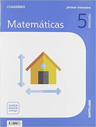 5 Primaria. 1 Trimestre. Matemáticas. Cuaderno