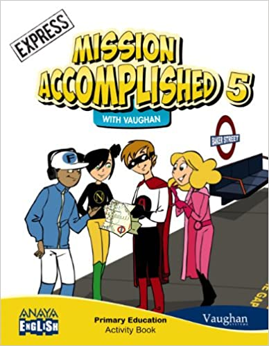 5 Primary. Mission Accomplished. Activity Book