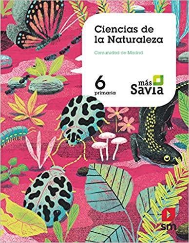 6 Primaria. Ciencias Naturales. Más Savia