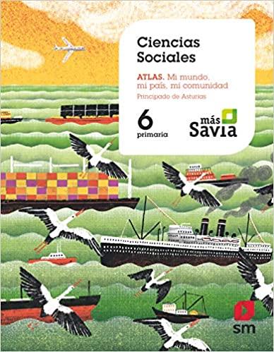 6 Primaria. Ciencias Sociales. Más Savia