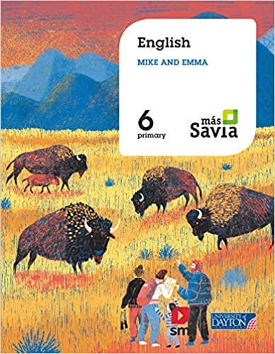 6 Primary. English for Plurilingual Schools. Más Savia