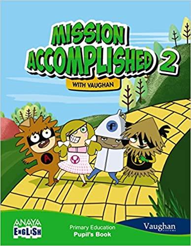Activity Book. Anaya English. 2 Primaria. Mission Accomplished