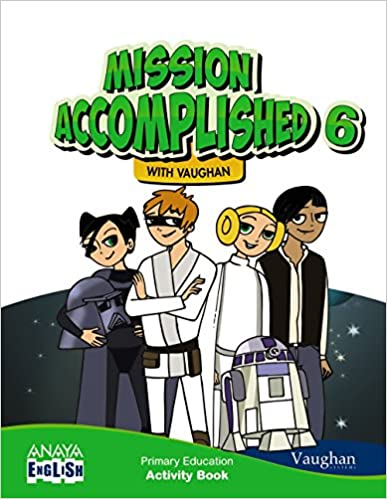 Activity Book. Mission Accomplished. 6 Primary