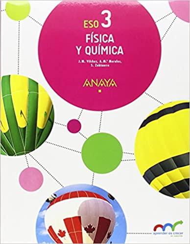 Andalucía. Física y Química. 3º de la Eso. Anaya