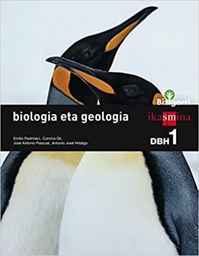 Bizigarri. DBH. 1º de la Eso. Biología eta Geología
