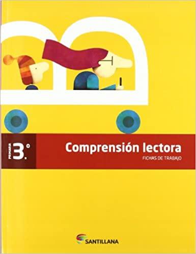 Compresión Lectora. 3 Primaria. Fichas