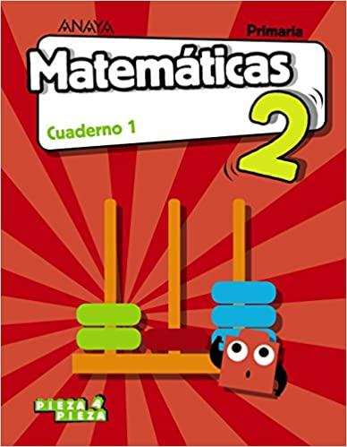 Cuaderno 1. Matemáticas. 2 Primaria