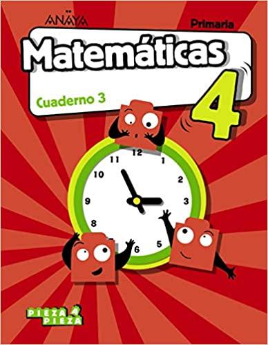 Cuaderno 3. Matemáticas. 4 Primaria
