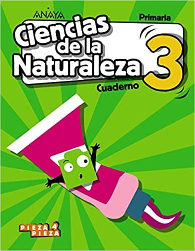Cuaderno. 3 Primaria. Ciencias Naturales