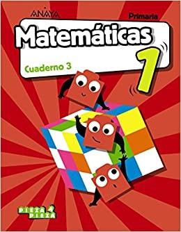 Cuaderno. 3 Primaria. Matemáticas 1