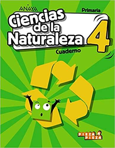 Cuaderno. 4 Primaria. Ciencias Naturales