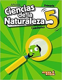Cuaderno. 5 Primaria. Ciencias Naturales