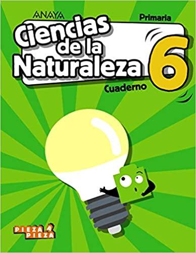 Cuaderno. Ciencias Naturales. 6 Primaria