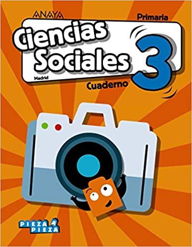 Cuaderno. Ciencias Sociales. 3 Primaria