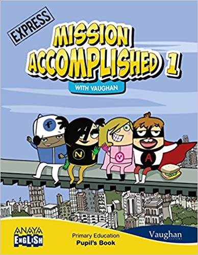 Express. Mission Accomplished. Activity Book. 1 primary