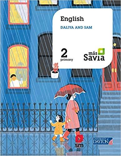 Más Savia. English. Sam and Daliya. 2 Primary