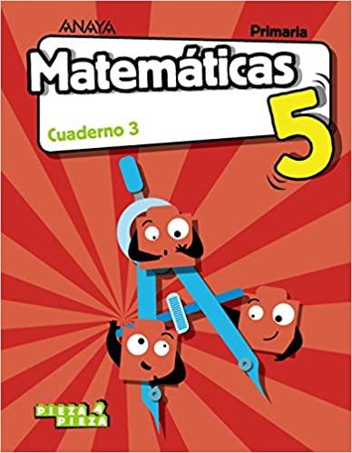 Matemáticas. 5 Primaria. Cuaderno 3