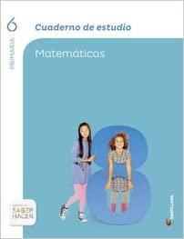 Matemáticas. Cuaderno Estudio. 6 Primaria