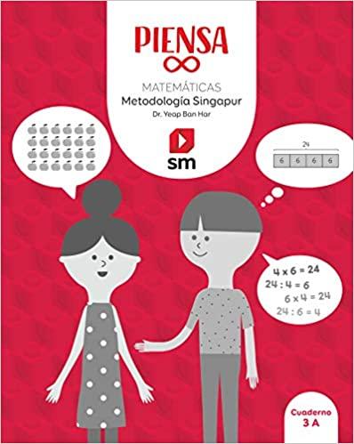 Metodología Singapur. 3 Primaria. Piensa infinito
