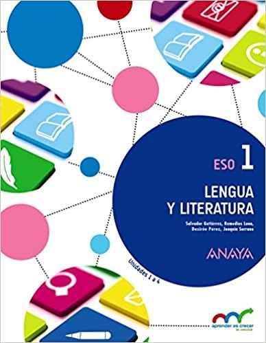 Pack de 3 Libros. Lengua y Literatura. Aprender es crecer en conexión. 1º de la Eso