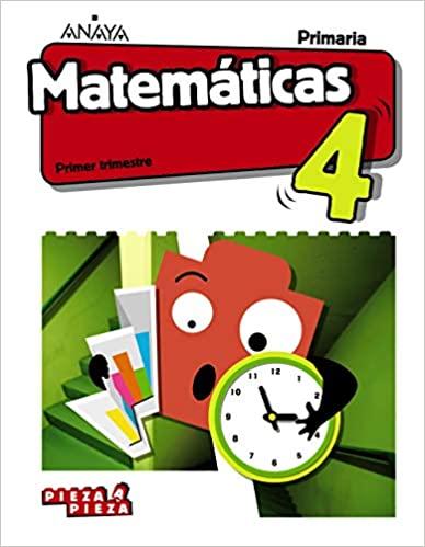 Pieza a Pieza. Matemáticas 4 Primaria. Taller de Resolución de problemas