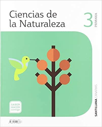 Saber Hacer Contigo. Ciencias Naturales. 3 Primaria