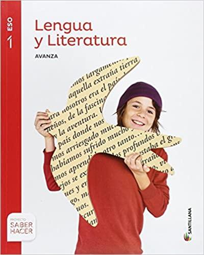 Saber Hacer. Lengua y Literatura. 1º de la Eso