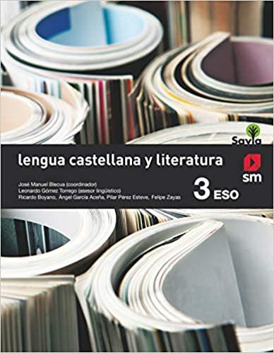 Savia. 3º de la Eso. Lengua Castellana y Literatura