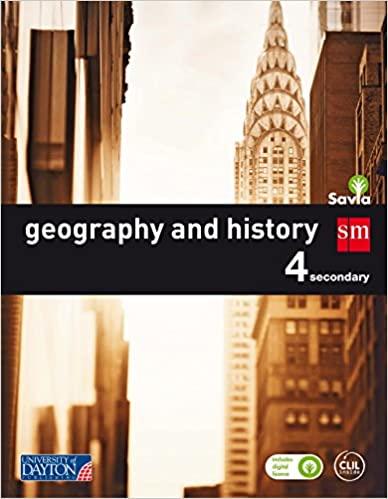 Savia. Geography and History. 4º de la Eso