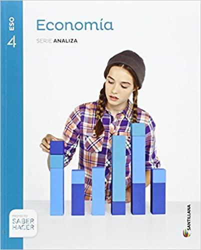 Serie Analiza. Economía. Saber Hacer. 4º de la Eso