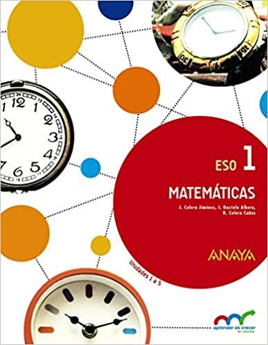 Trimestre 1,2,3. Matemáticas. 1º de la Eso